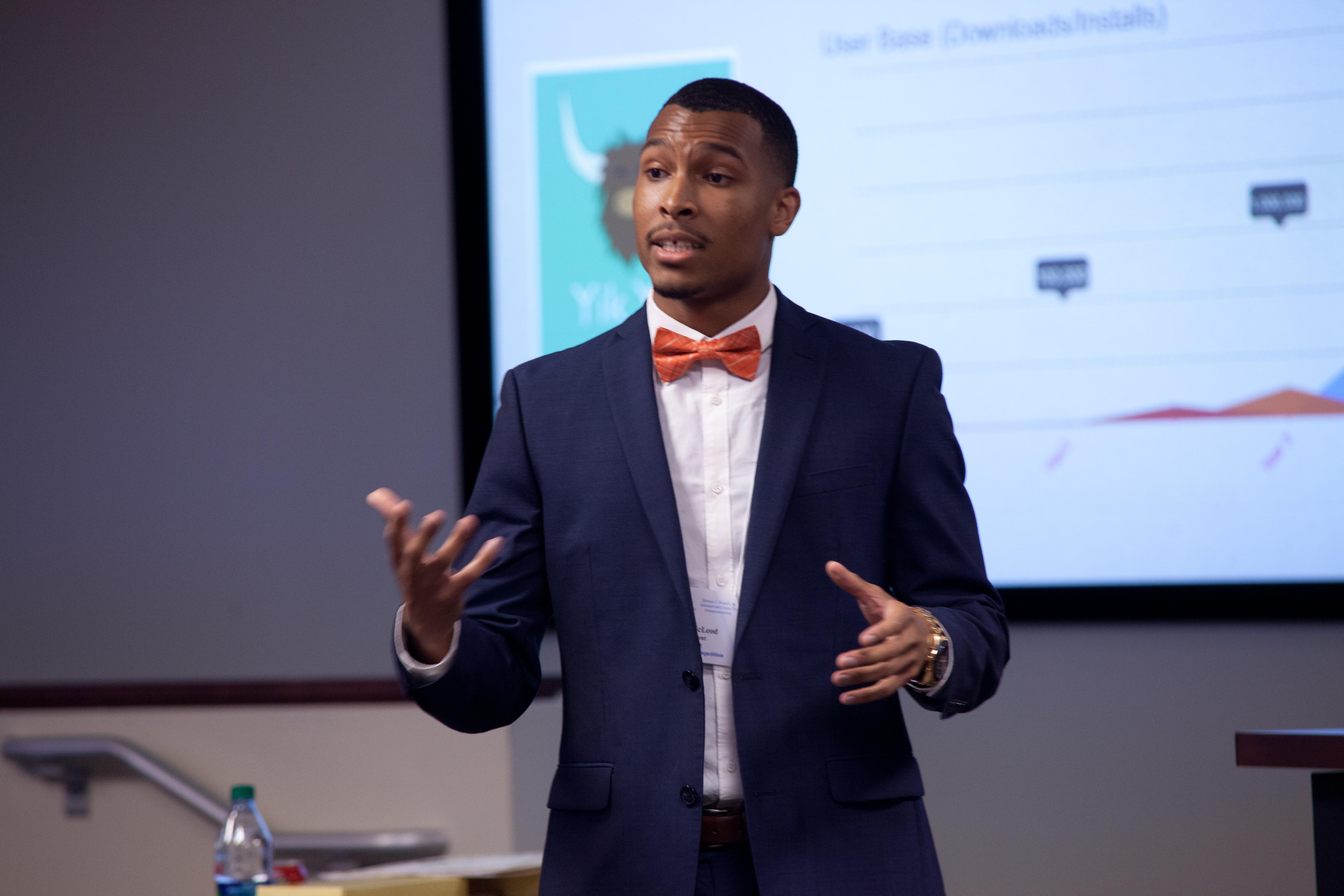 Justin McLeod: winner of the UrbanGeekz and Atlanta Tech Village Startup Contest