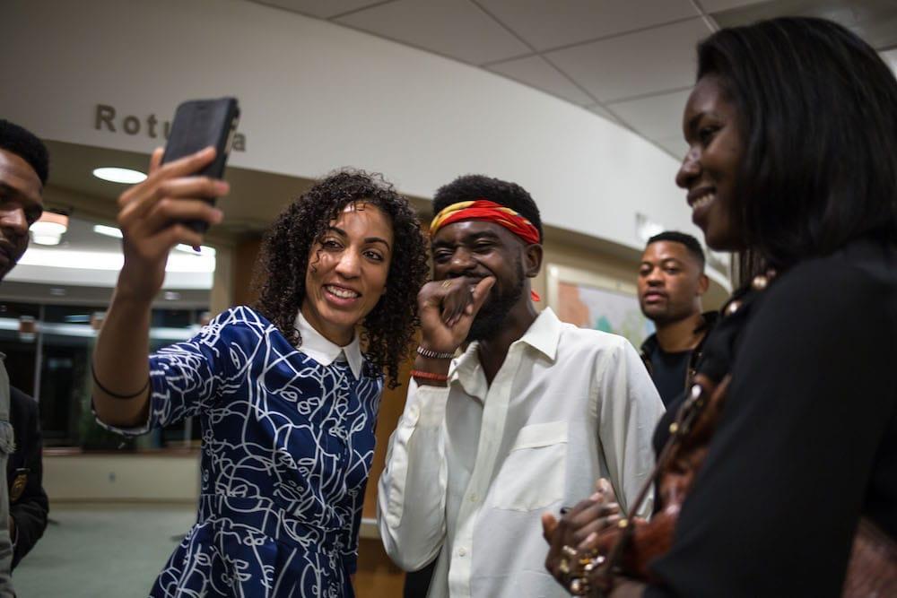 Maya Horgan Famodu (left) founder of Ingressive Africa (Photo Credit: Moyo Oyelola)