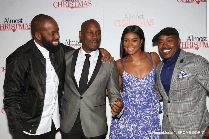 """Almost Christmas"" Stars Attend Film's Atlanta Premiere"