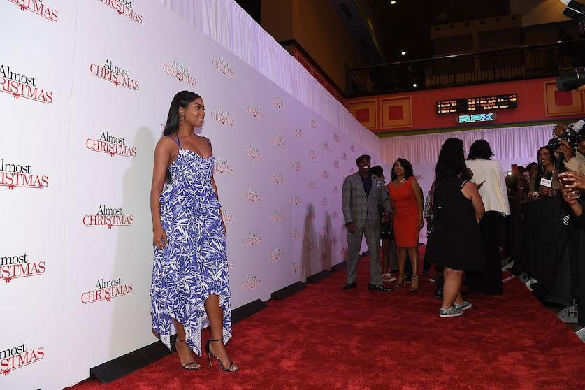 Almost Christmas Stars Attend Film's Atlanta Premiere