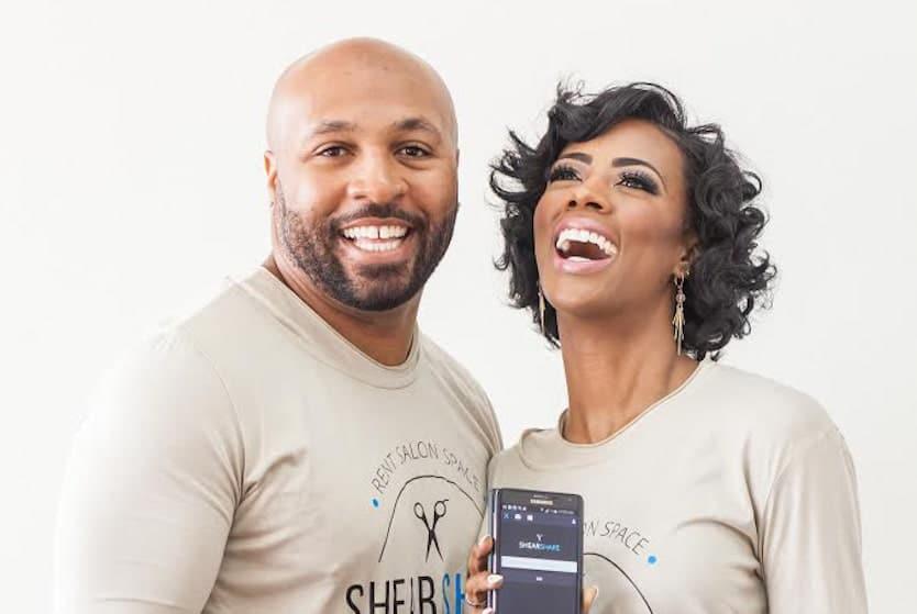 Ty and Courtney Caldwell, co-founders of ShearShare UrbanGeekz