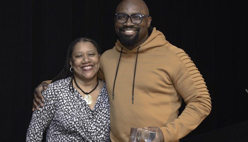 3rd annual Atlanta Startup Awards_Host Rose Scott_Awardee Georgia Azih_LeaseQuery