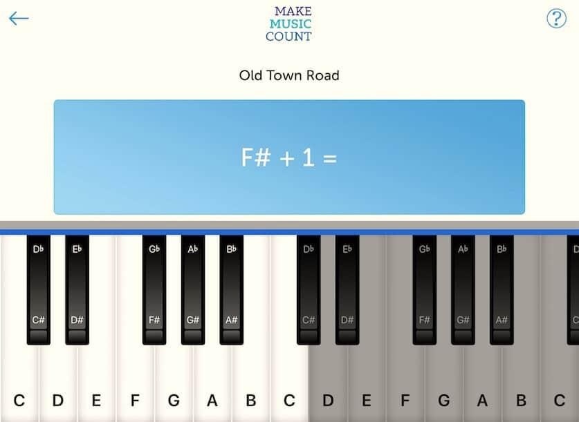 Make Music Count Mobile App