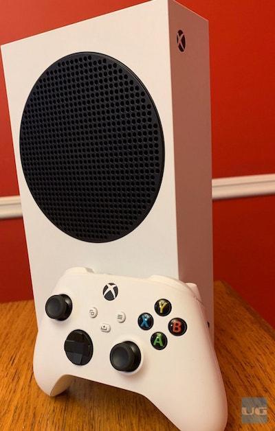 Xbox Series S (photo credit: Dele Tinuoye)