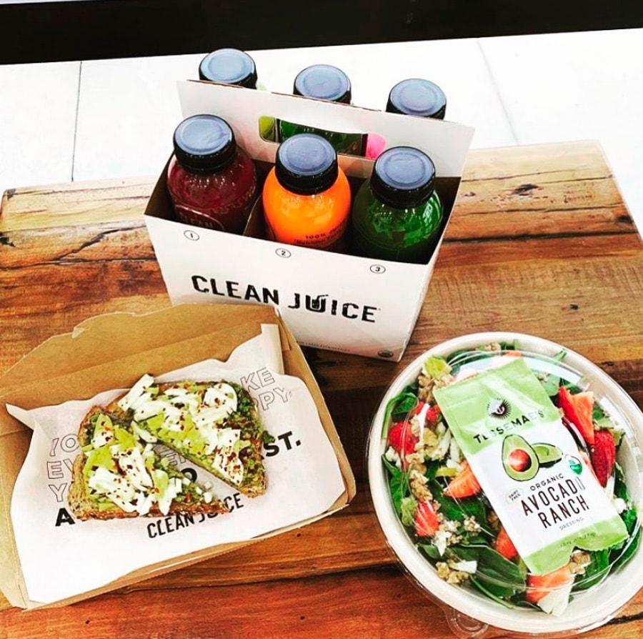 Clean Juice_Organic Juice_Healthy Bites
